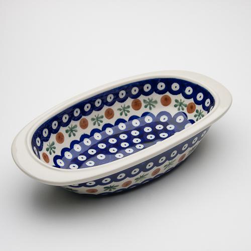 オーブン皿・オーバル・小(Z227-41)