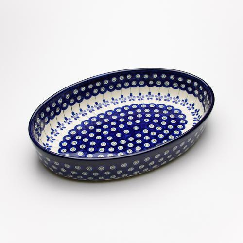 オーブン皿・オーバル・大(Z349-166A)