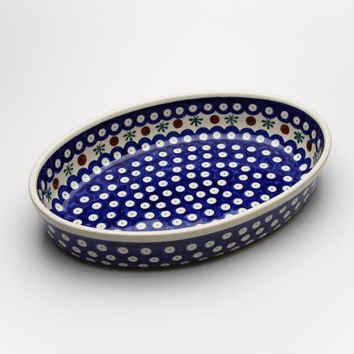 オーブン皿・オーバル・大(Z349-41)