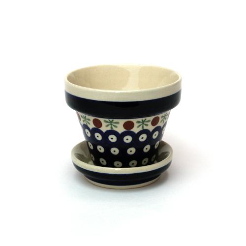 ポーランド陶器 植木鉢