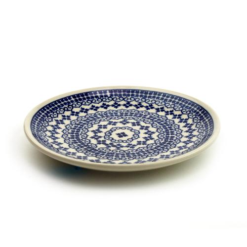 ポーランド陶器 平皿φ19.5cm