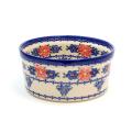 ポーランド陶器 オーブン皿 ラウンド大