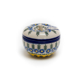 ポーランド陶器 ミニりんごポット