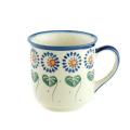 ポーランド陶器 マグカップ・大