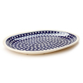 ポーランド陶器 オーバル大皿