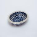 ポーランド陶器 オーブン皿リム付き・ミニ