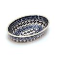 ポーランド陶器 オーブン皿・オーバル・ミニ