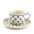 ポーランド陶器 カップ&ソーサー