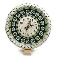 ポーランド陶器 掛け時計