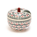 ポーランド陶器 りんごポット
