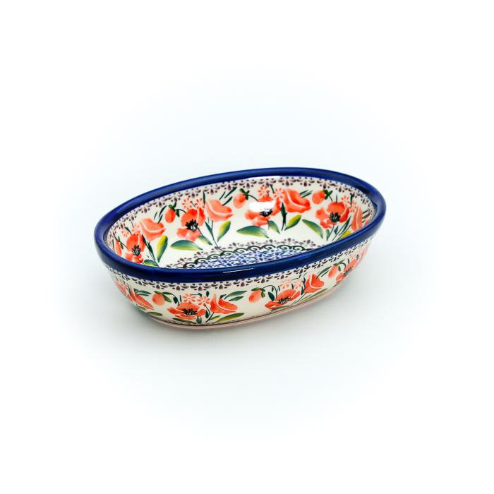 オーブン皿・オーバル・小(TMS19-A18)