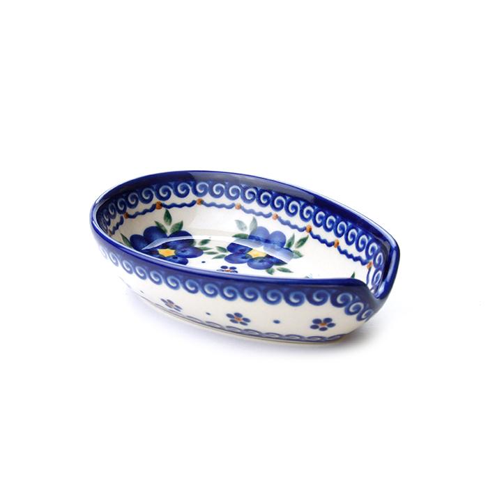 ポーランド陶器 スプーンレスト