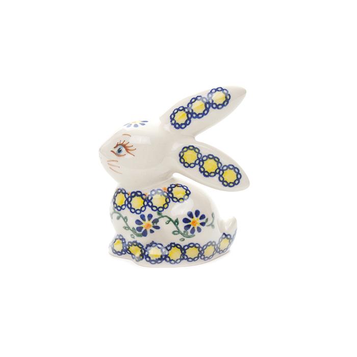 ポーランド陶器  ウサギ