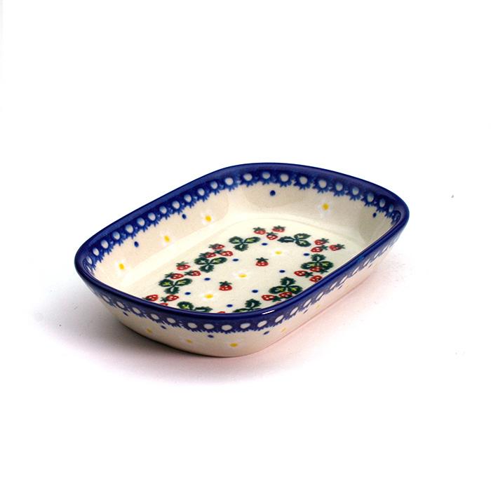 オリーブ皿(V172-B264)