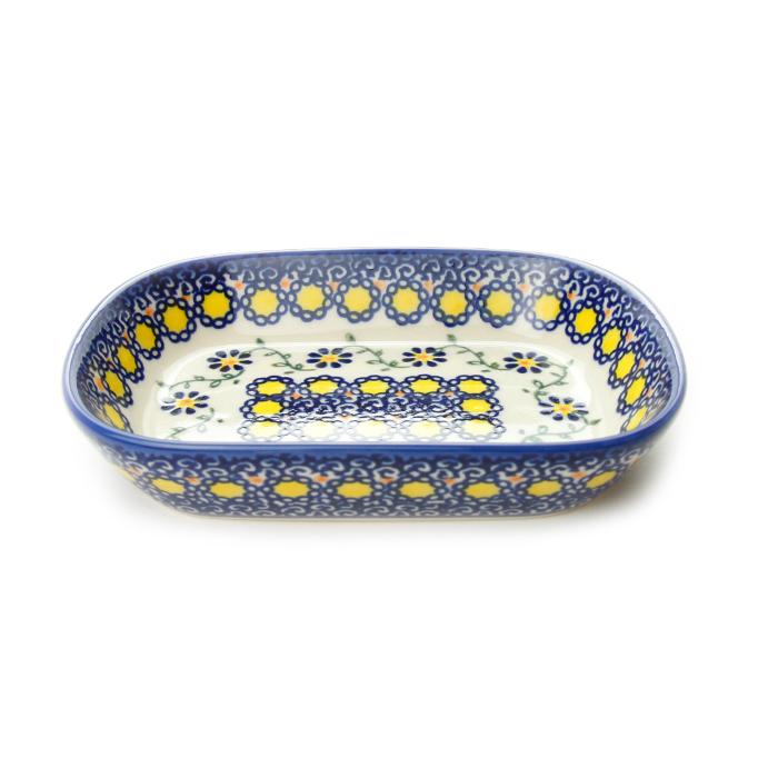 ポーランド陶器 オリーブ皿
