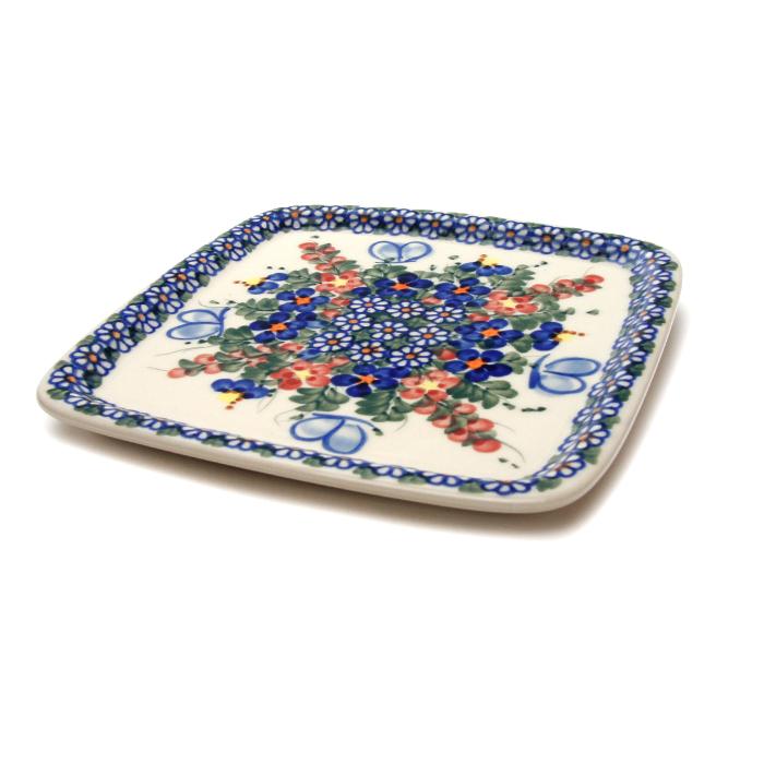 ポーランド陶器 デザートプレート