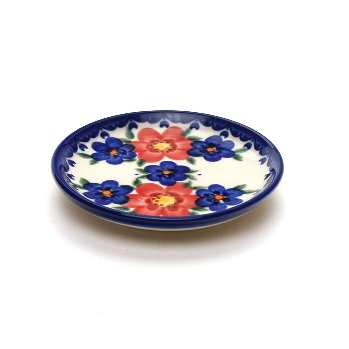 ポーランド陶器 皿φ11cm