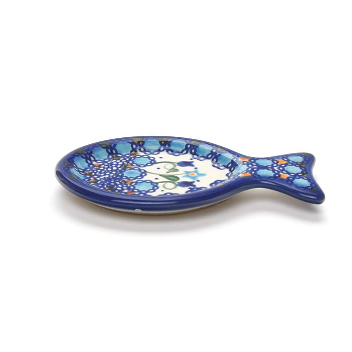 ポーランド陶器 小魚トレイ