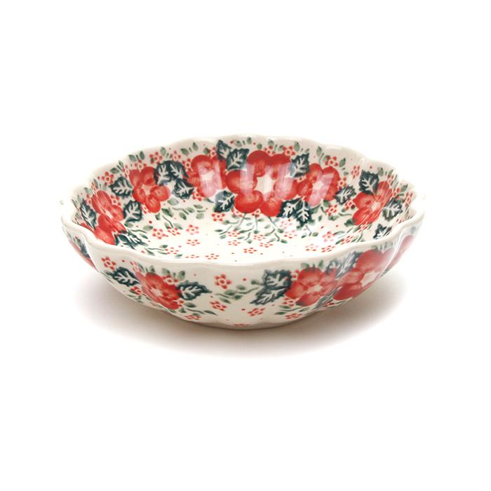 ポーランド陶器  菊鉢φ16cm