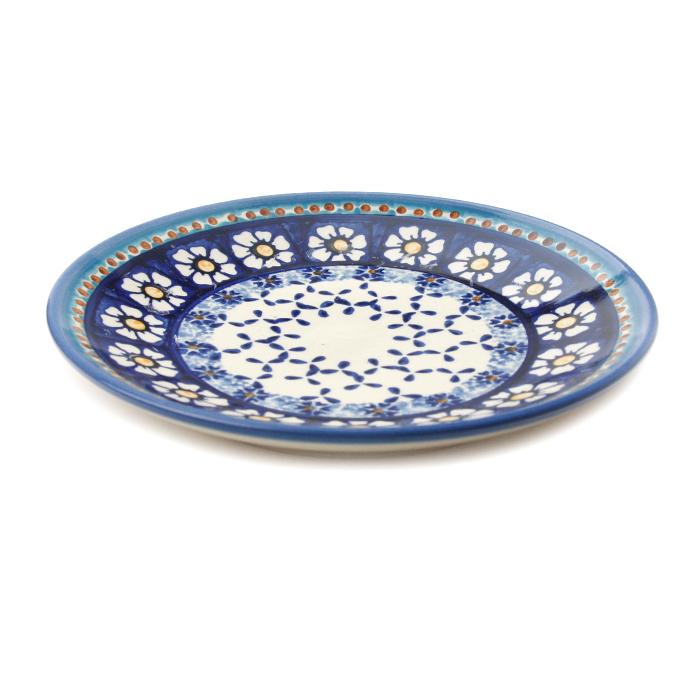 ポーランド陶器 皿φ19cm