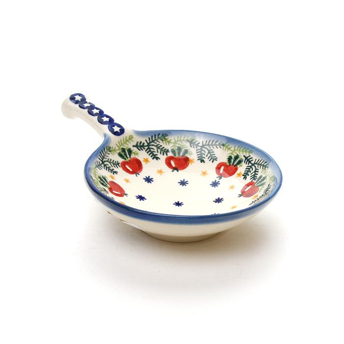 ポーランド陶器 オリーブディッシュ