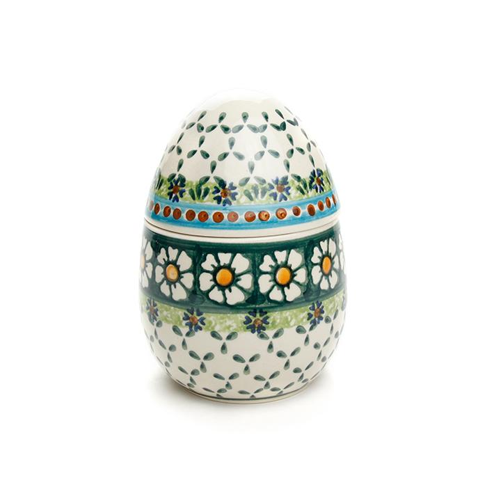 ポーランド陶器 たまごコンテナ