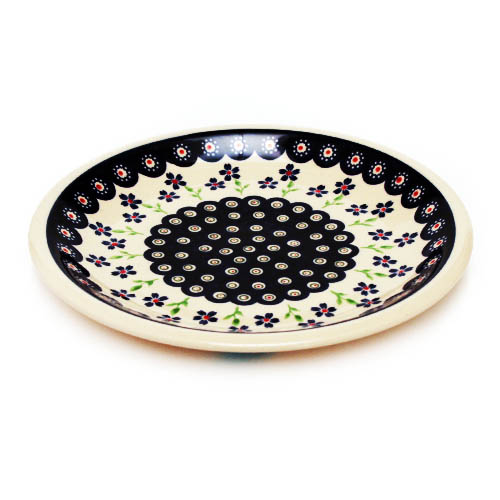 ポーランド陶器 平皿φ24cm