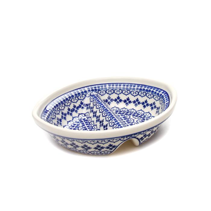 ポーランド陶器 セパレートディッシュ