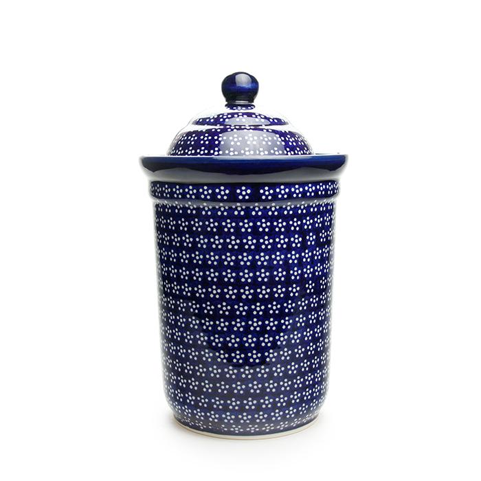 ポーランド陶器 キャニスター
