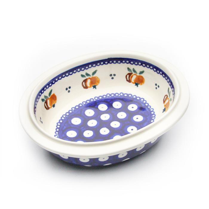 オーブン皿・リム付き・ミニ(Z279-479)