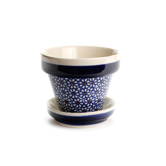 ポーランド陶器 植木鉢φ10cm
