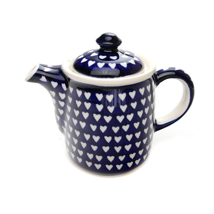 ポーランド陶器 コーヒーポット