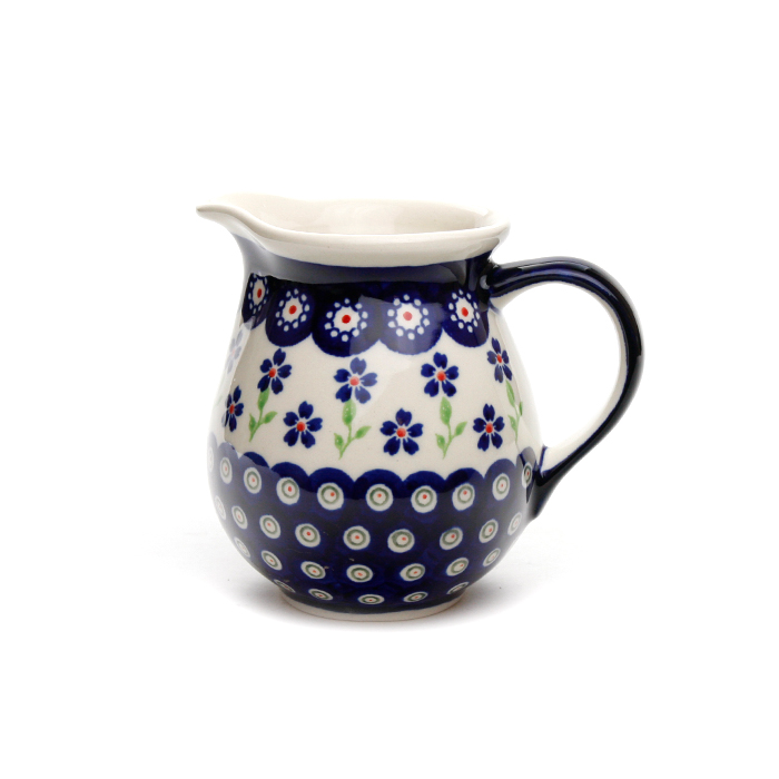 ポーランド陶器 ジャグ・0.42L