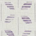メラミン化粧板 バリエーション(京かたがみ) LJ-10082K 4x8 七宝くずし(紫紺)
