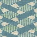 メラミン化粧板 バリエーション(京かたがみ) LJ-10087K 4x8 菱つなぎ(青竹色)