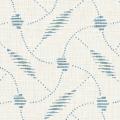メラミン化粧板 バリエーション(京かたがみ) LJ-10089K 4x8 分銅つなぎ(あさぎ色)
