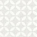 メラミン化粧板 バリエーション(京かたがみ) LJ-10140K 4x8 七宝(白ねず)
