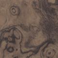 メラミン化粧板 木目(ダークトーン) TJ-10058K 3x6 アッシュ 杢