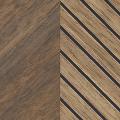 メラミン化粧板 木目(ミディアムトーン) TJ-10155K 3x6 ウォールナット 柾目