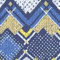 メラミン化粧板 バリエーション TJY10176K 4x8 エキゾチックムード(ブルー)