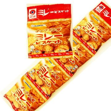 ミレービスケットキャラメル味 30g×4袋 野村煎豆