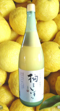 馬路村柚子 柚子しぼり 1,8L (塩入り)