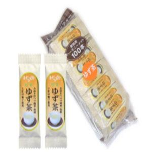 ハーモニーメイト OSK ゆず茶(柚子茶) 100本入り お得サイズ