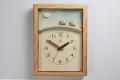 ひつじと虹の電波時計