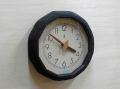 森の電葉時計(黒)