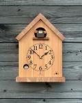 バードハウスの時計