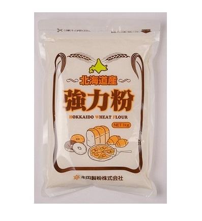 北海道産小麦強力粉 【1kg×15個】