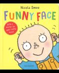 KM045: FUNNY FACE (ハードカバー絵本)