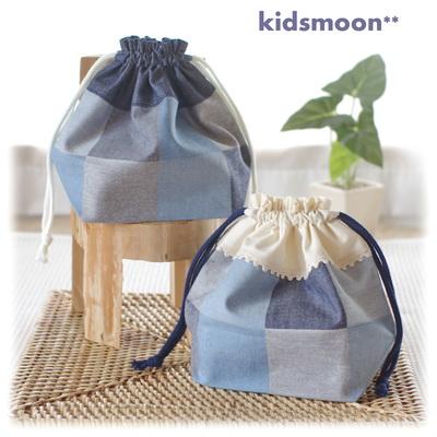 幼稚園保育園入園グッズお弁当袋手作りオーダーメイド