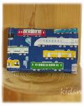 【中央線・男の子用】ミニポケットティッシュカバー 園児用ティッシュケース